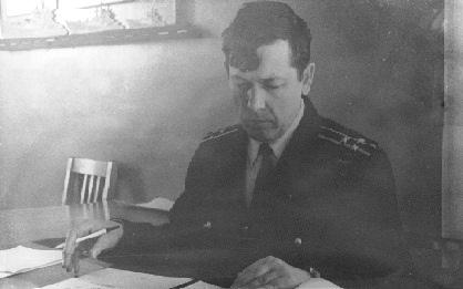 Ворожцов В.Г. за работой