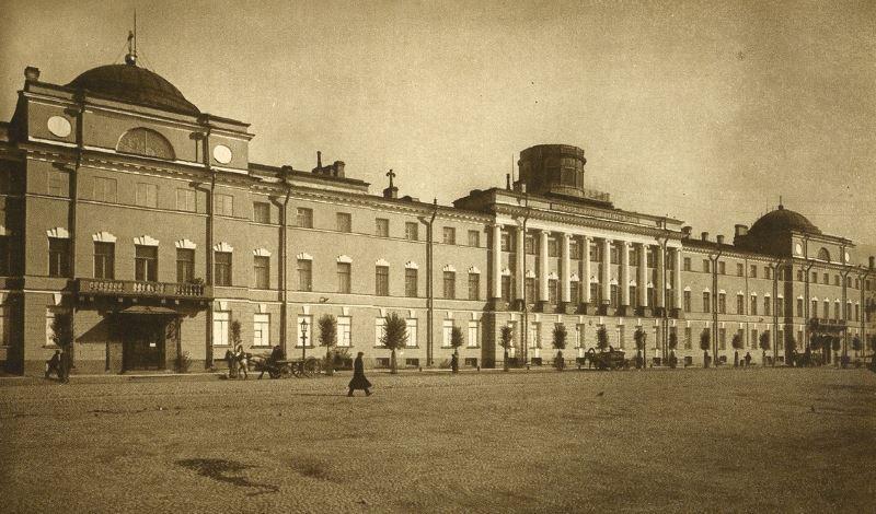 Здание Морского корпуса, XIX в.