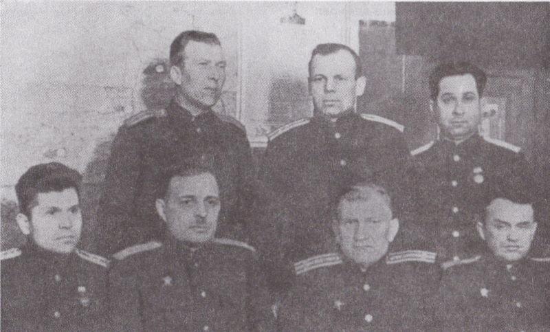 Офицеры склада 146, 1944 г.